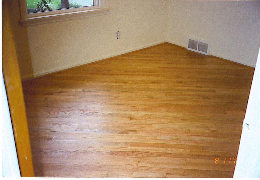Bruce 39 s wood flooring refinishing for Oakland flooring